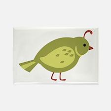 Quail Bird Animal Magnets