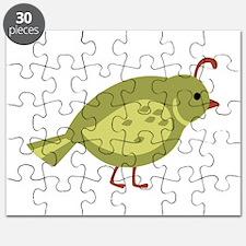 Quail Bird Animal Puzzle