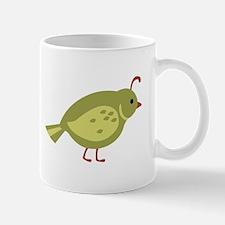 Quail Bird Animal Mugs
