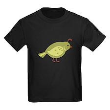 Quail Bird Animal T-Shirt