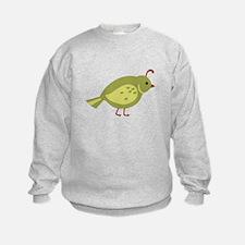 Quail Bird Animal Sweatshirt