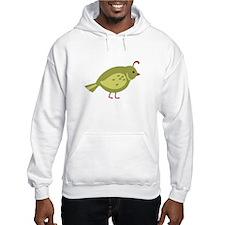 Quail Bird Animal Hoodie