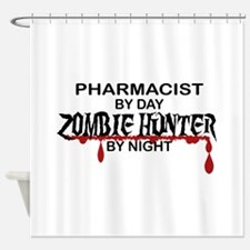 Zombie Hunter - Pharmacist Shower Curtain