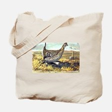 Sharp-Tailed Grouse Bird Tote Bag