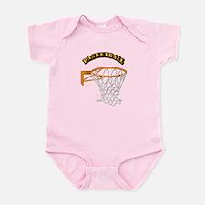 Basketball w Text Infant Bodysuit