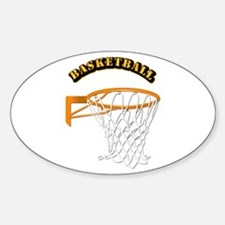 Basketball w Text Decal