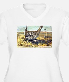 Sharp-Tailed Grouse Bird (Front) T-Shirt