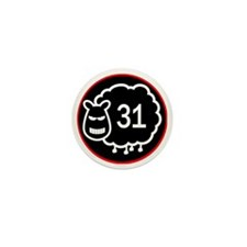 Black sheep 31 Mini Button