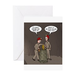 Caving Fun Greeting Card