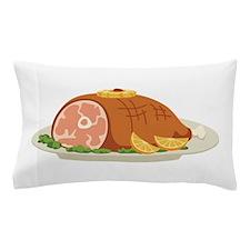 Ham Dinner Platter Pillow Case
