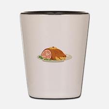 Ham Dinner Platter Shot Glass