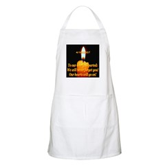 4/16/2007 To Our Dearly Depar BBQ Apron