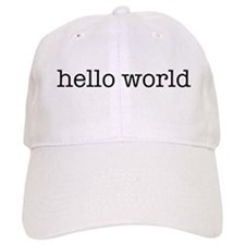 Hello World Baseball Cap