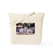 Brown Pelican Bird Tote Bag