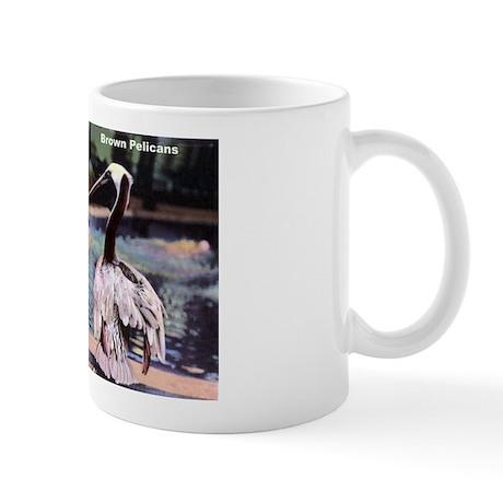 Brown Pelican Bird Mug