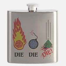 DIE DIE DIE! Flask