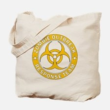 Zombie Outbreak Response Gold Team  Tote Bag