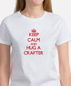 Keep Calm and Hug a Crafter T-Shirt