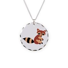 Raccoon Animal Necklace