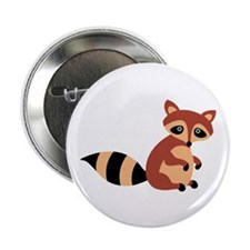 """Raccoon Animal 2.25"""" Button (10 pack)"""