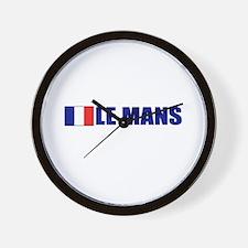 Le Mans, France Wall Clock