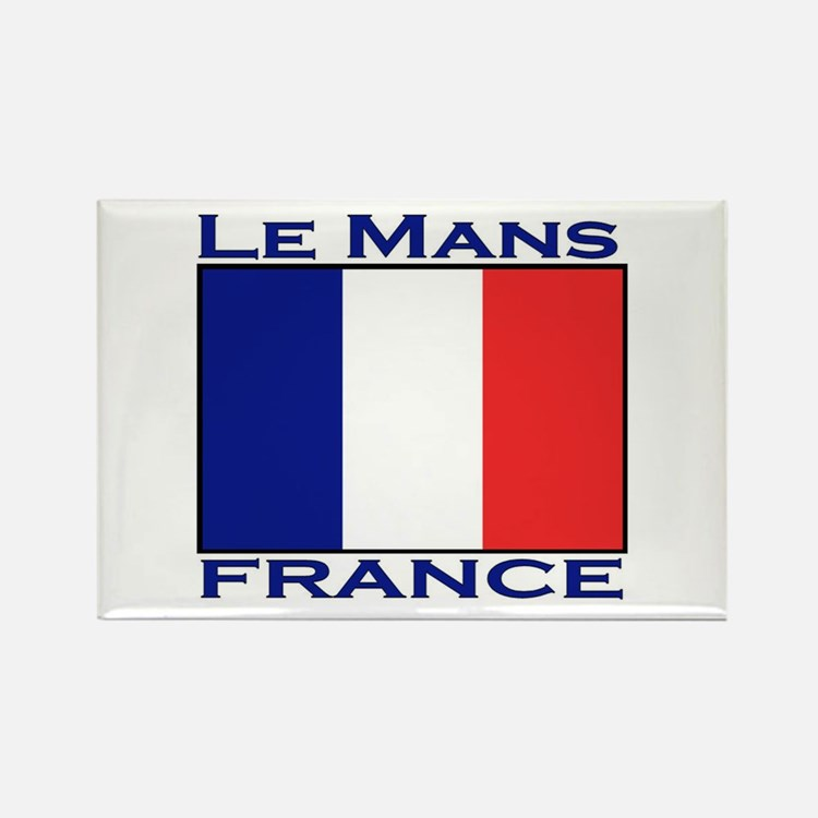 Le Mans, France Rectangle Magnet