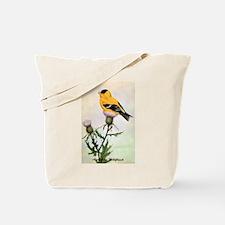 American Goldfinch Bird Tote Bag