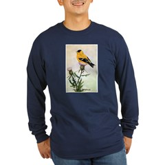 American Goldfinch Bird (Front) T