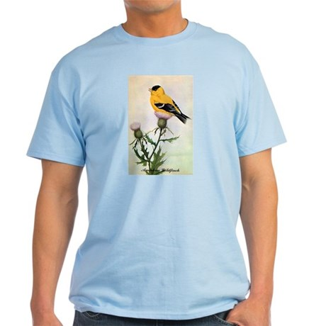 American Goldfinch Bird Light T-Shirt