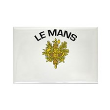 Le Mans, France Rectangle Magnet