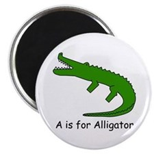 A is for Alligator Magnet
