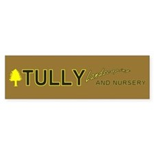 TULLY Landscaping AND NURSERY Bumper Car Sticker