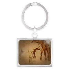 painted horses Keychains