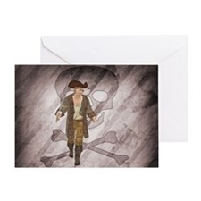 Pirate 2 Greeting Cards