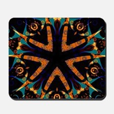 Tribal Batik Geometric Mousepad