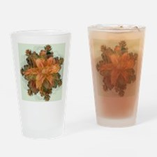 Fractal Day Lillie Drinking Glass