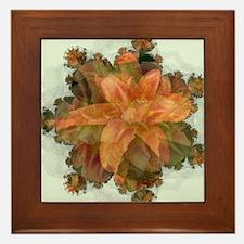 Fractal Day Lillie Framed Tile