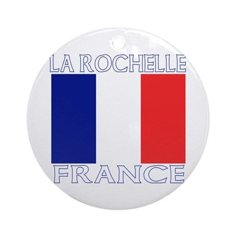 La Rochelle, France Ornament (Round)