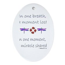 Miracle Moments Oval Ornament
