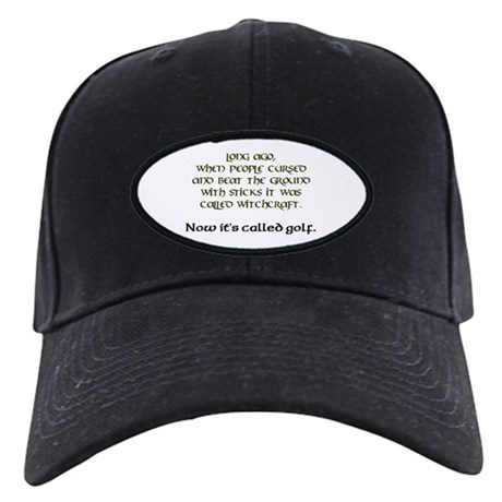 Golf Black Cap