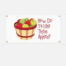 How Do Ya Like Them Apples? Banner