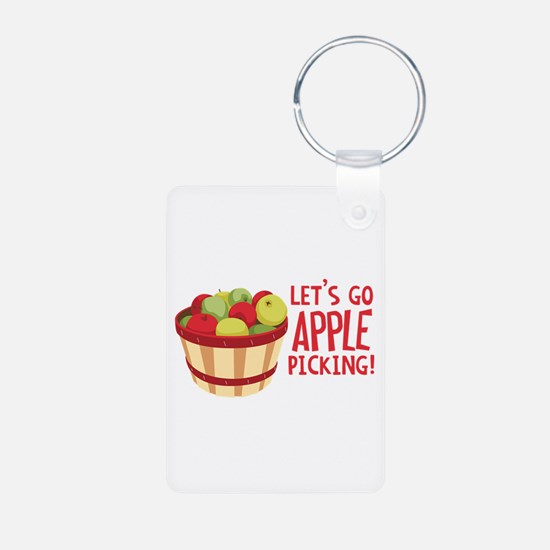 Lets Go Apple Picking! Keychains