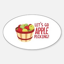 Lets Go Apple Picking! Decal