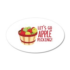 Lets Go Apple Picking! Wall Decal