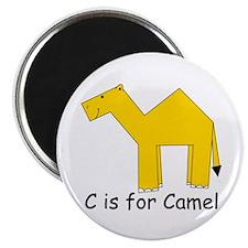 "C is for Camel 2.25"" Magnet (10 pack)"