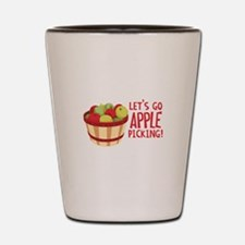 Lets Go Apple Picking! Shot Glass