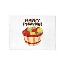 Happy Picking! 5'x7'Area Rug
