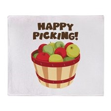 Happy Picking! Throw Blanket