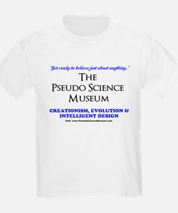 The Pseudo Science Museum Logo T-Shirt