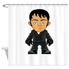 Hard Man Shower Curtain